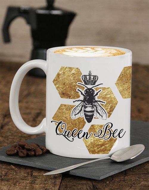 Queen Bee Personalised Mug