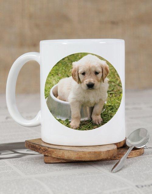 Puppy Photo Personalised Mug