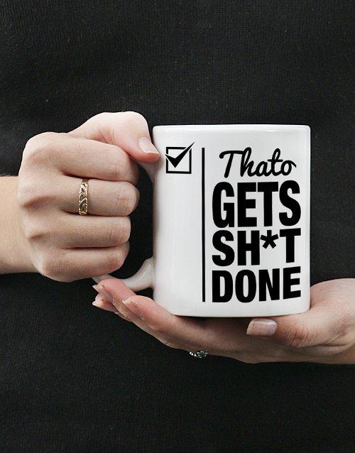 Get Done Personalised Mug Personalised