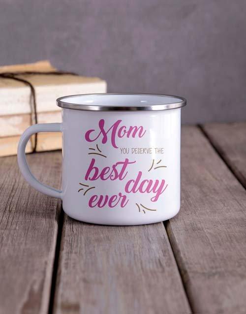 Deserve the Best Camper Personalised Mug