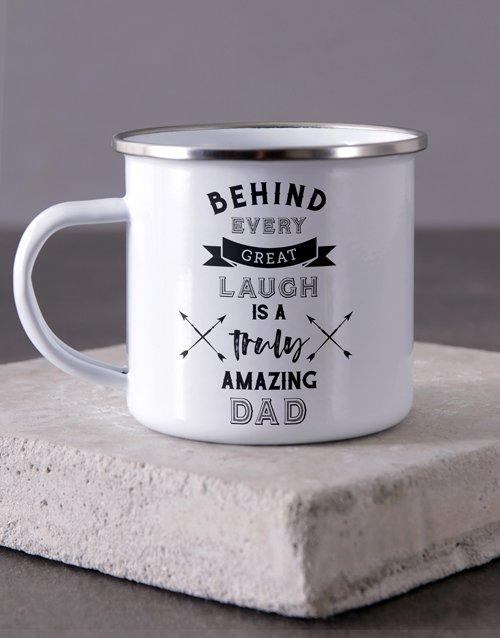 Truly Amazing Dad Camper Personalised Mug