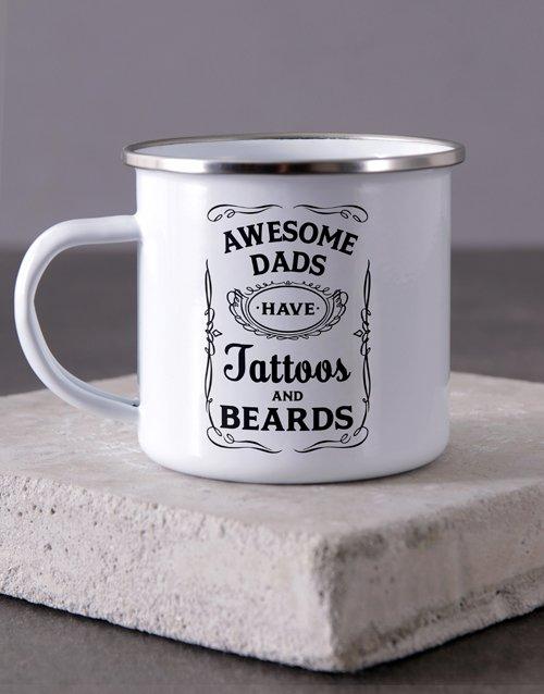 Awesome Dad Camper Personalised Mug