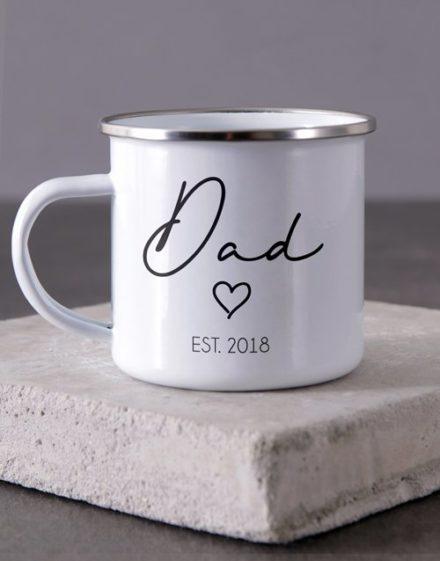 Dad Camper Personalised Mug