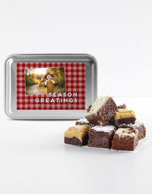 Personalised Chocolate Chunk Brownies