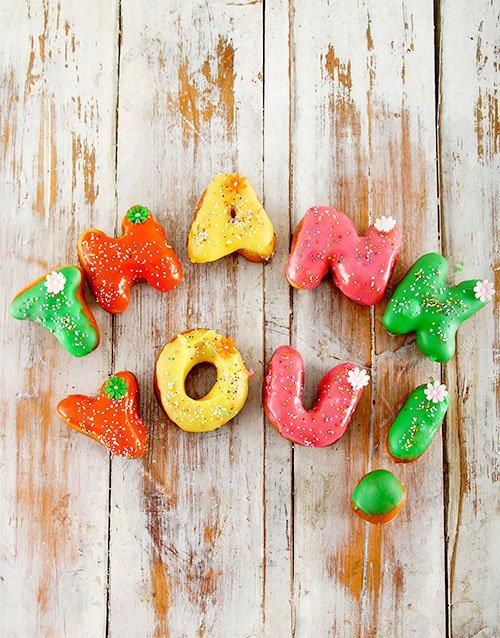Thank You Mini Doughnuts