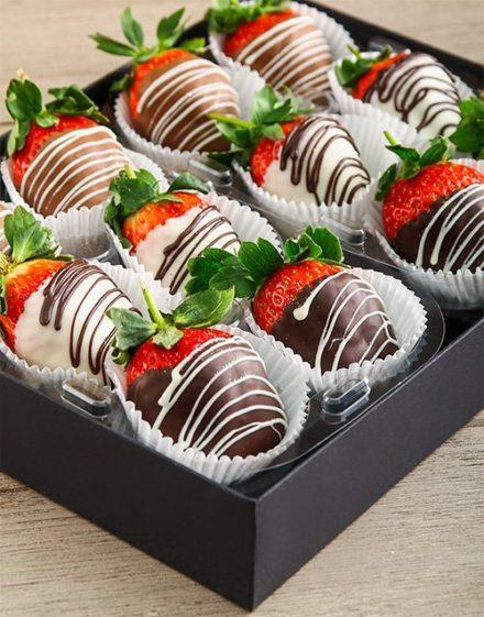 Stripy Strawberry Gift
