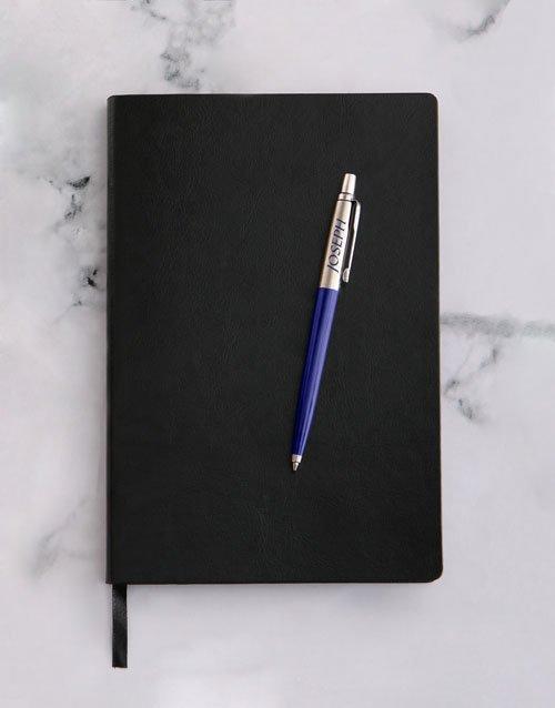 Personalised Parker Jotter Blue Pen