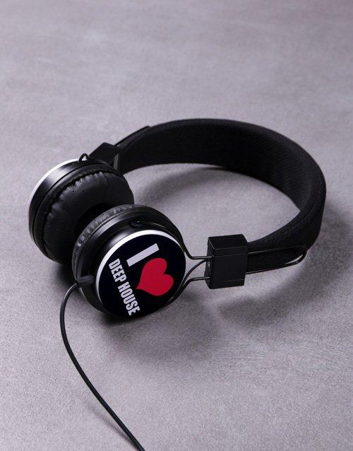 Personalised I Heart Headphones