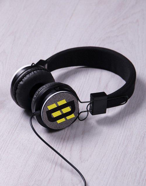 Personalised Racing Stripe Headphones