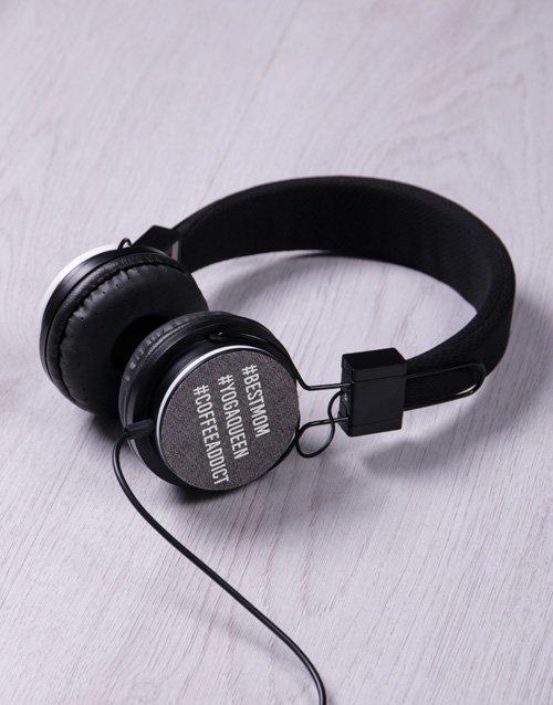 Personalised Hashtag Headphones