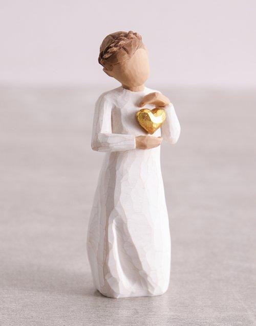 Keepsake Girl Willow Tree Figurine