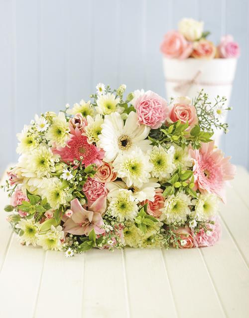 flowers Pastel Flower Bouquet