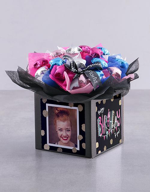 personalised Personalised Birthday Polka Dot Chocolate Box