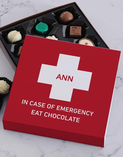 personalised Personalised Emergency Chocolate Tray