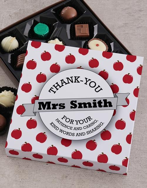 personalised Personalised Thank You Teacher Sleeve