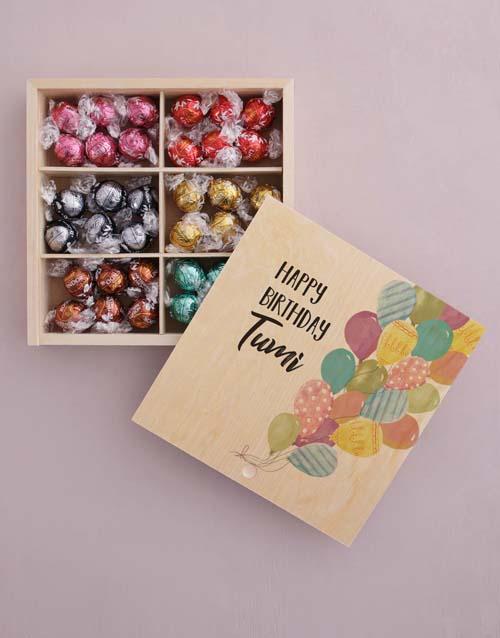 personalised Personalised Birthday Box Of Chocs