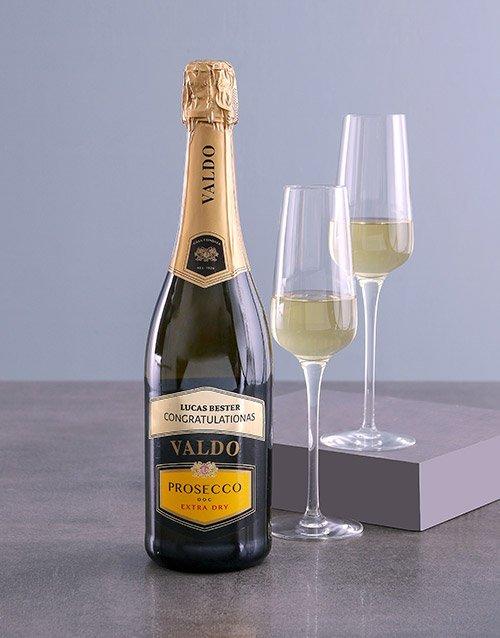 fine-alcohol Personalised Valdo Prosecco
