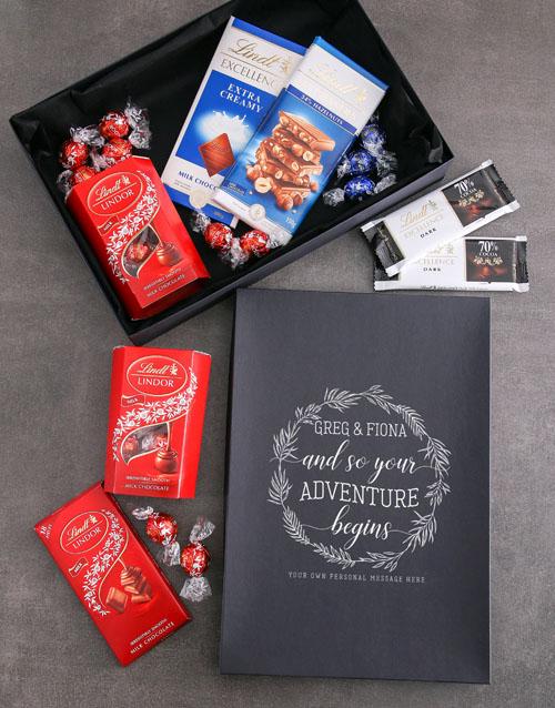 personalised Personalised Adventure Begins Lindt Box