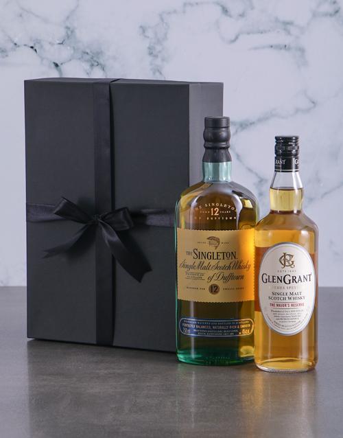 fine-alcohol Single Malt Duo Giftbox