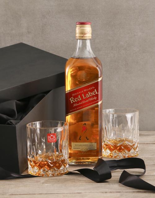 fine-alcohol Johnnie Walker Red Gift Set