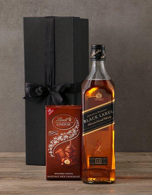 fine-alcohol Johnnie Walker Black Gift Box