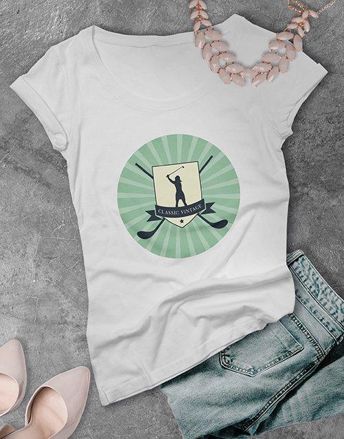 clothing Ladies Classic Golf Shirt