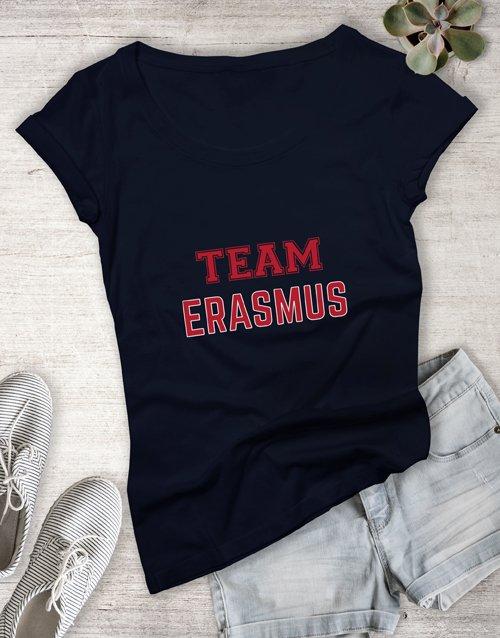 clothing Personalised Team Ladies T Shirt
