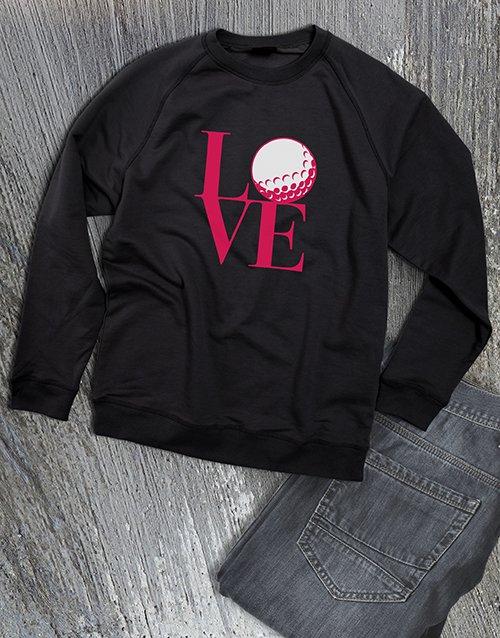 clothing Golf Lover Ladies Sweatshirt