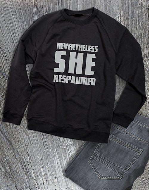clothing Respawn Gamer Ladies Sweatshirt