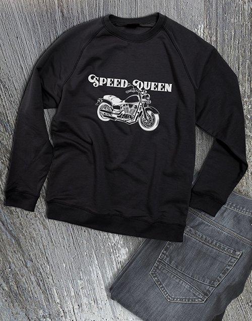 clothing Speed Queen Ladies Sweatshirt