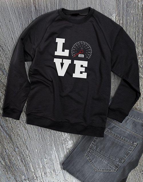 clothing Love Speed Ladies Sweatshirt