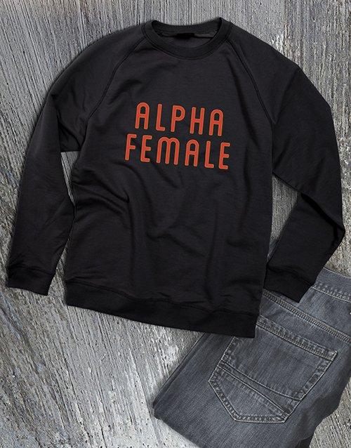 clothing Alpha Female Ladies Sweatshirt
