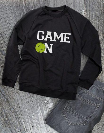 clothing Game On Tennis Ladies Sweatshirt