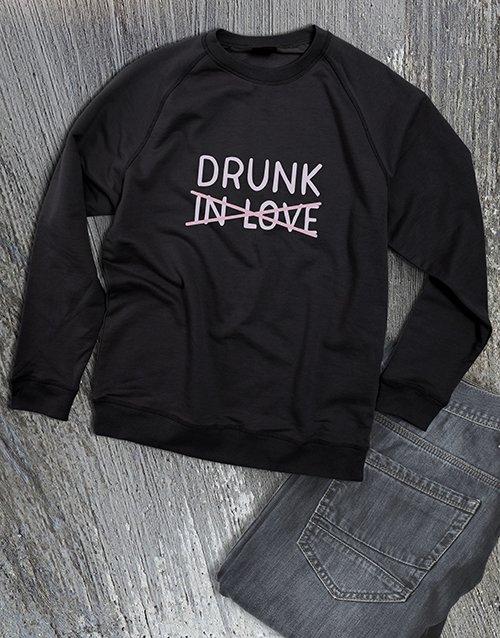 clothing Drunk In Love Ladies Sweatshirt
