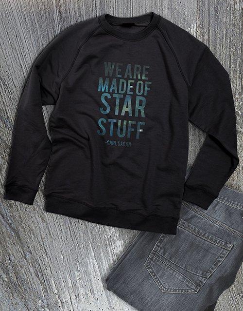 clothing Made Of Star Stuff Ladies Sweatshirt