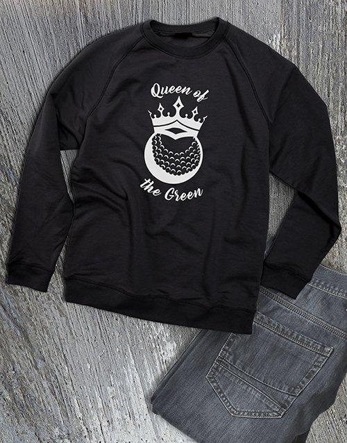 clothing Queen Of The Green Ladies Sweatshirt