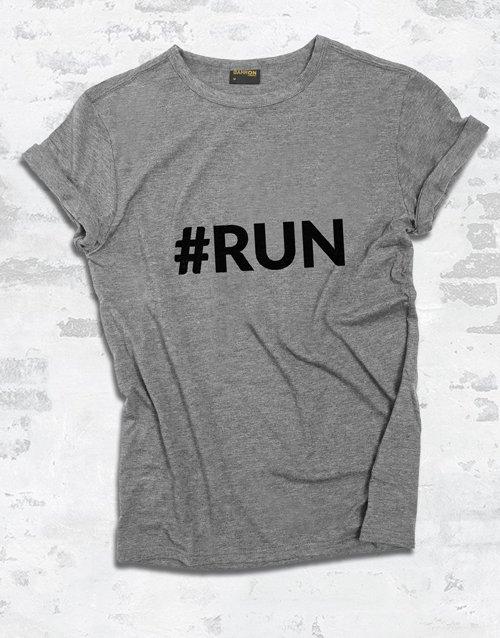 clothing Modern Run Ladies T Shirt
