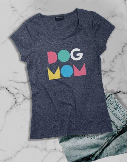 clothing Dog Mom Ladies T Shirt