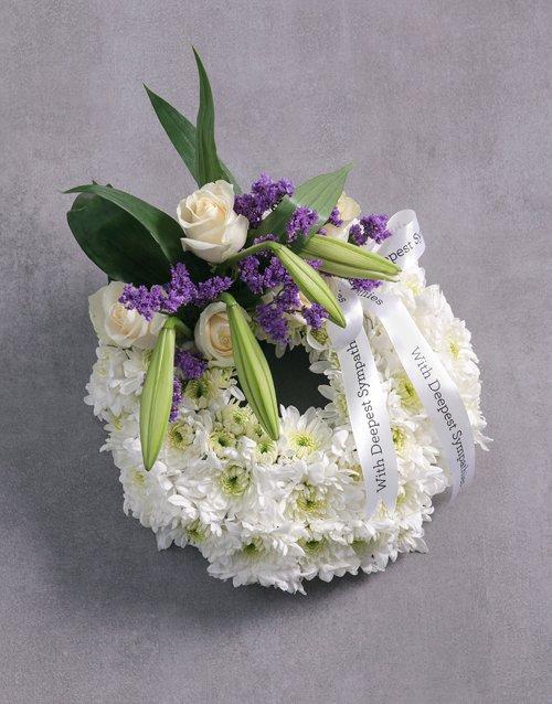 flowers Funeral Wreath