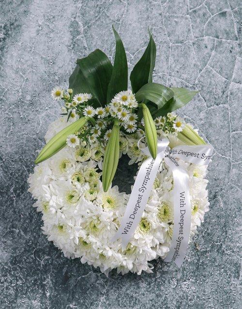 flowers Mini Sympathy Ring