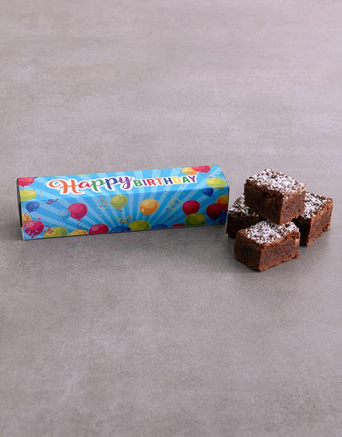 birthday Birthday Brownie Box