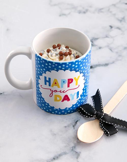 birthday Happy Birthday Cake In A Mug