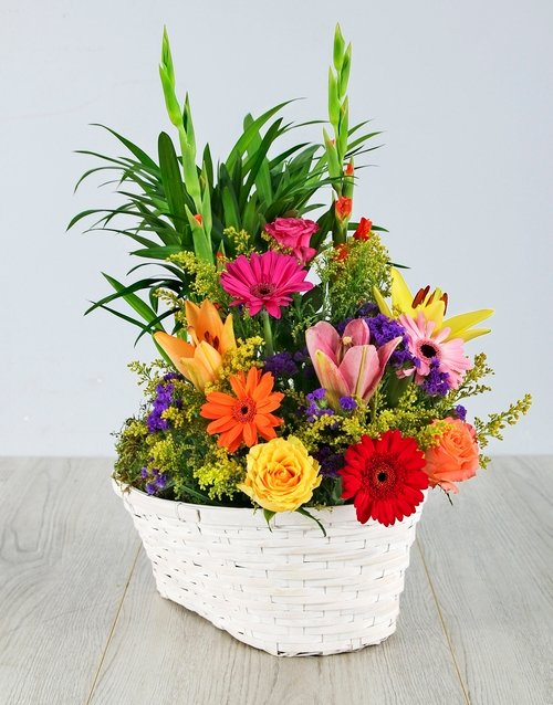 Floral Delight Basket