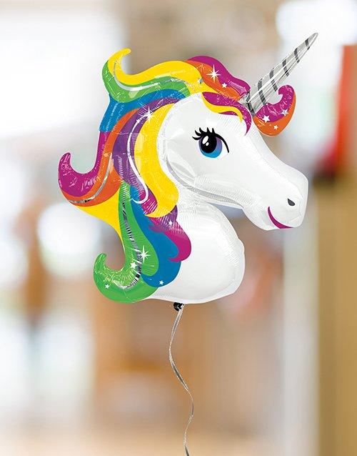 birthday Unicorn Balloon Bouquet