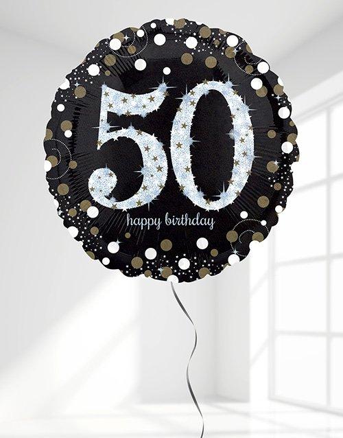 birthday Sparkling 50th Birthday Jumbo