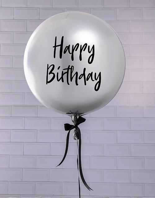 birthday Prosecco Celebrations Balloon Gift