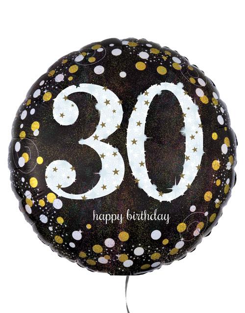 birthday Thrilling Thirtieth Birthday Balloon