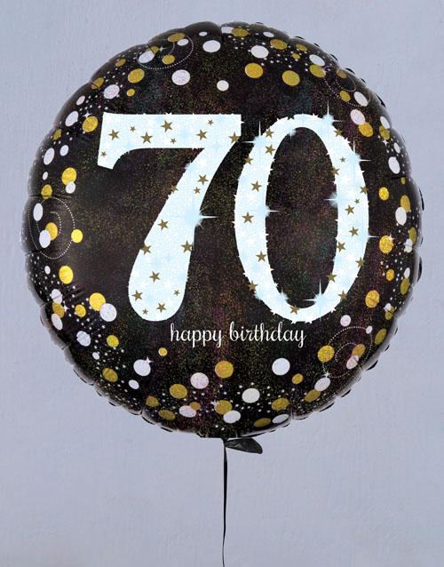 birthday Successful Seventieth Birthday Balloon