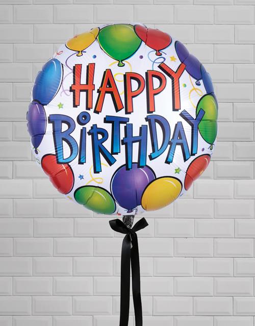birthday Birthday Bonanza Balloon Gift