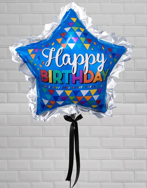 birthday Birthday Super Star Balloon Gift